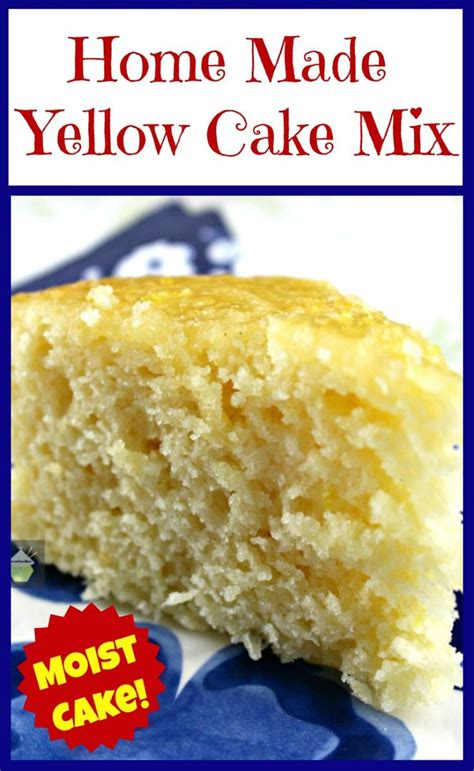 mix this with the other home made yellow cake mix this is a lovely substitute to