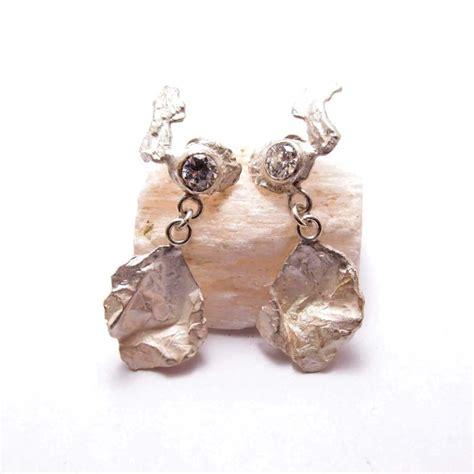 Engagement Earrings by Snow Engagement Earrings Dett Silver Jewellery