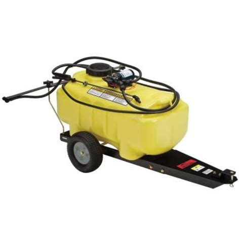 brinly hardy 25 gal tow lawn and garden sprayer st