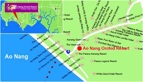golden resort krabi map bangkok post hotel bookings aonang orchid resort