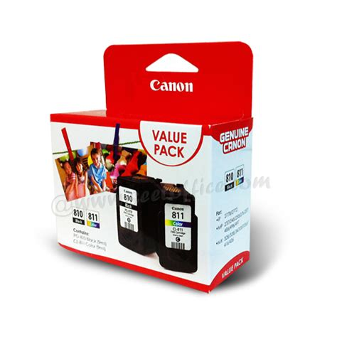 Cartridge Printer Canon Cl811 canon ink cartridge pg810 cl811 value pack