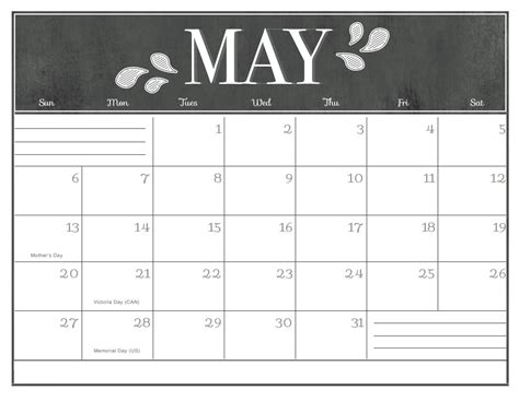 may 2018 calendar chalkboard free printable 2018 calendars calendar 2018