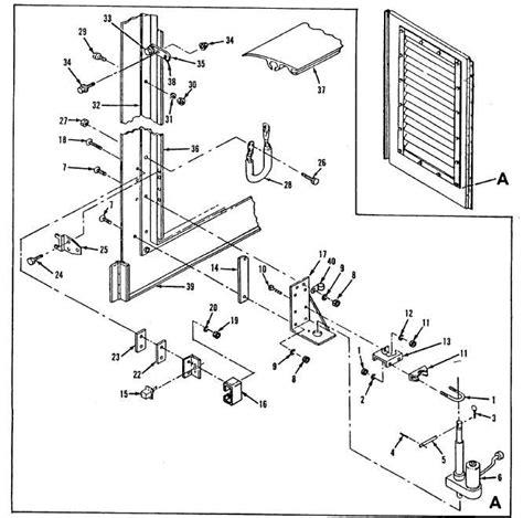figure 15 16 housing kit door and shutter assembly