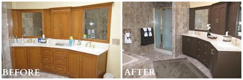 bathroom updates before and after add value and style with low cost kitchen and bath updates coldwell banker blue matter