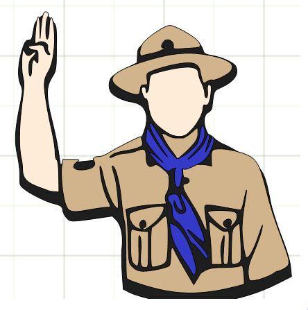 clipart scout boy scout clip clipart best