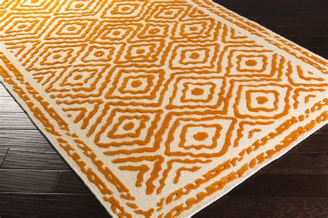 Burnt Orange Area Rug Surya Beth Lacefield Atlas Ats 1003 Burnt Orange Area Rug