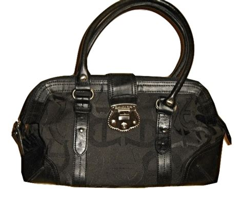 Aigner Bag Original Code 002 etienne aigner black doctor bag satchel handbag jacquard