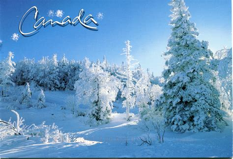 in canada winter in canada remembering letters and postcards