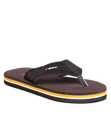 rugged flip flops sparx durable black brown flip flops price in india buy sparx durable black brown flip