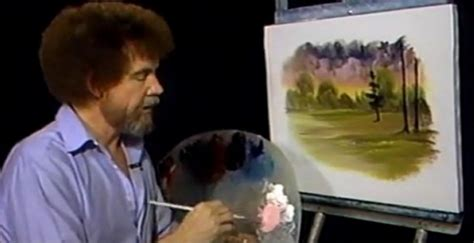 bob ross painting twitch bob ross takes twitch by one angry gamer