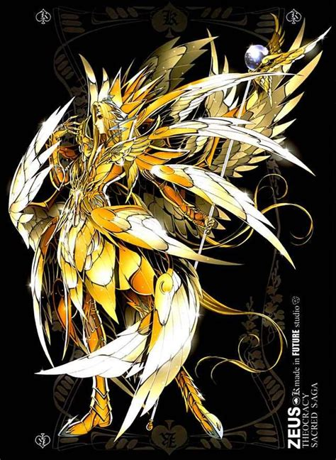 imagenes zeus anime anime zeus king of the greek gods god of thunder