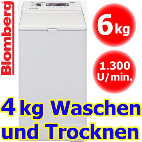 Waschmaschine Trockner Kombi Toplader 1009 by Blomberg Wdt 6335 Wasch Trockner Kombiger 196 T Toplader