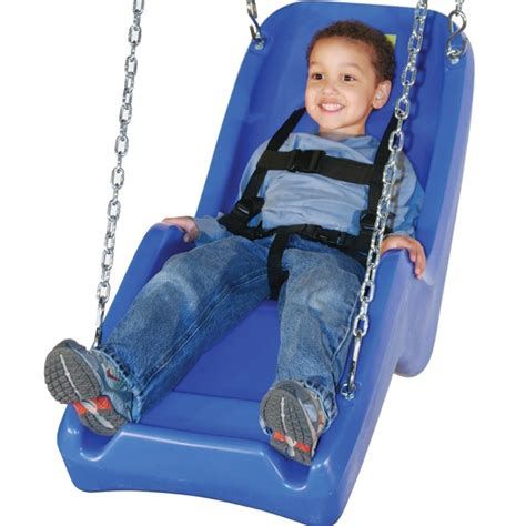 accessible swing seat jennswing molded swing seat handicap accessible