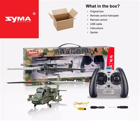 Beli Rc Helicopter Syma S109g 3 5ch Mini Helicopter Ready To Fly Best syma s109g mini 3 5ch rc helicopter ah 64 apache simulation outdoor indoor radio remote