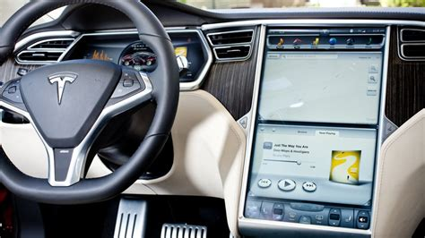 Tesla Touch Screen Tesla Model S Touchscreen Dashboard Picture Pictures