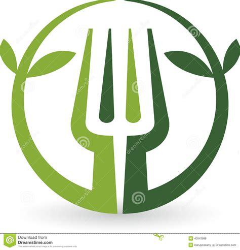 royalty free stock photos leaf fork logo image 40043988