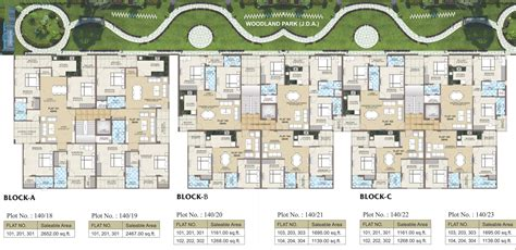 foresta floor plan 2652 sq ft 4 bhk 3t apartment for sale in aashish group