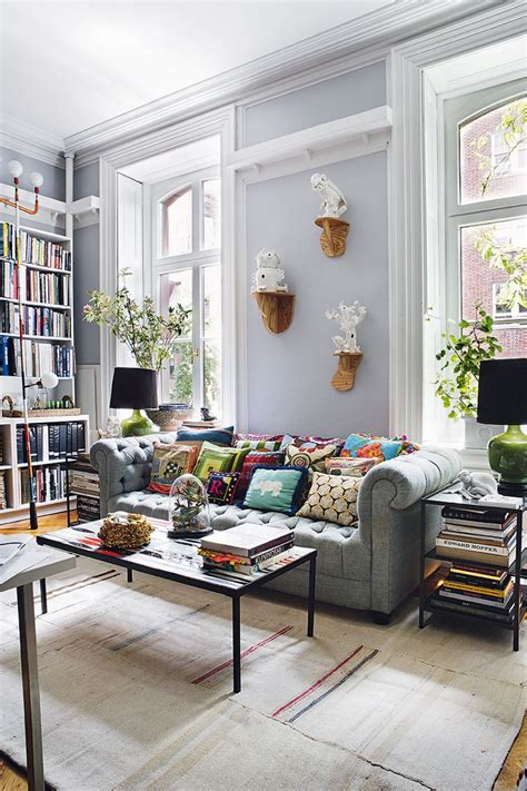home interior design the bohemian of a new york city