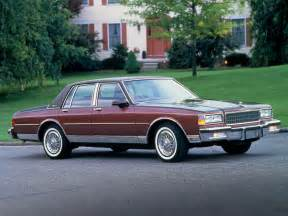 Chevrolet Caprice 1987 Chevrolet Caprice Classic Brougham 1987 90