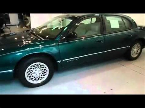 how to work on cars 1997 chrysler lhs electronic valve timing 1997 chrysler lhs west bend wi youtube