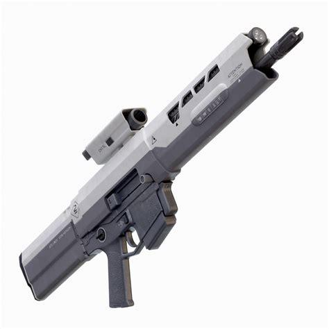 Jack Knife Sofa Oblivion Rifle 3d Model Max Obj Fbx Ma Mb Cgtrader Com