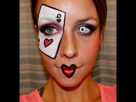 halloween makeup tutorial queen of hearts 301 moved permanently