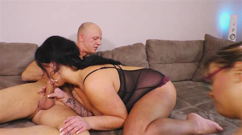 Lovely Mature Threesome Fuck With Sexy Chicks By Mmv