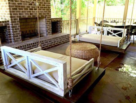 patio swing bed 448 best images about porch swings on pinterest