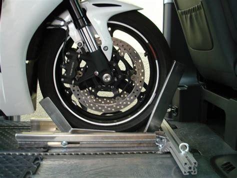 V Klasse Motorradtransport by Motorrad Vorderradhalter Quick Stand Ii Profi Vito Viano