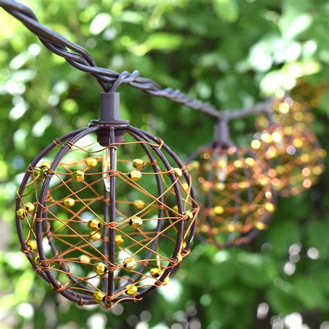 Novelty Patio Lights Novelty Patio Lights Novelty Outdoor Lighting 48beads With10 Big Size 5cm String Led Starry