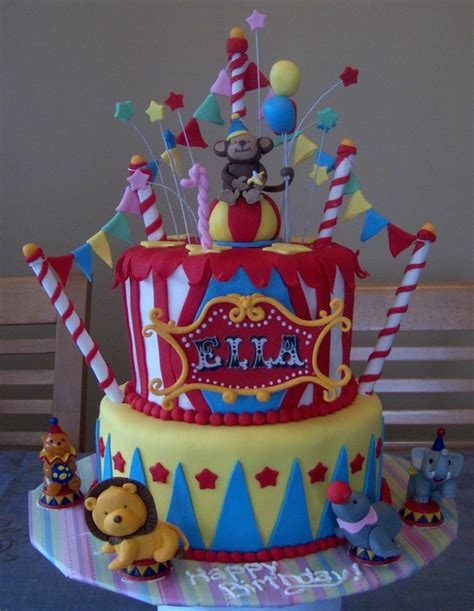 carnival themed cakes i want to throw a circus carnival party for a child