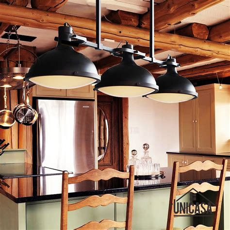 Large Kitchen Lights Large Pendant Lights Vintage Industrial Lighting Modern Ceiling Fixture Hotel Bar Kitchen Led