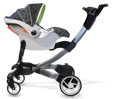 Origami Folding Stroller - origami automatic folding stroller phone charger