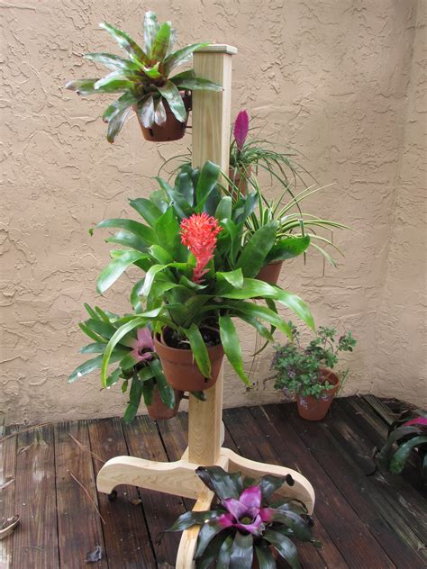 Flower Pot Hangers - clay pot hanger flower poles container garden design