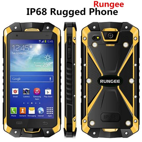 Rungee Android 60 Waterproof Smartphone Ip68 Walkie Talkie Ht s5 t 233 l 233 phone promotion achetez des s5 t 233 l 233 phone