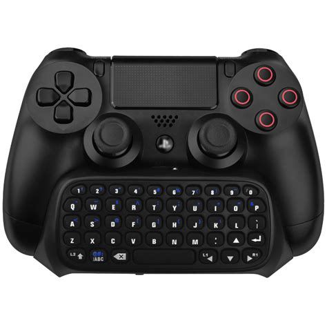 Dobe Ps4 Ps4 Slim Ps4 Pro Wireless Keyboard Keypad Chatpad black dobe controller wireless keyboard for ps4 pro slim dualshock 4 buy for ps4 black