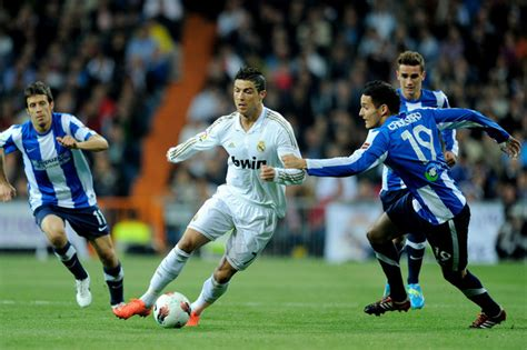 imagenes real madrid futbol cristiano ronaldo and cadamruro photos photos real
