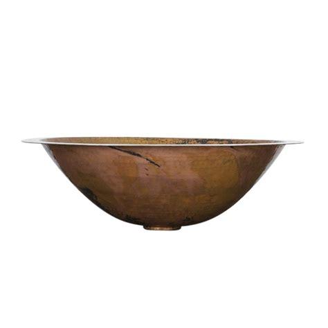 oval copper bathroom sink oval copper drop in sink on sale
