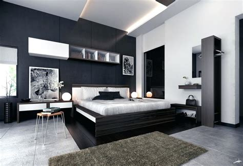 black and white bedroom furniture home decorating trends