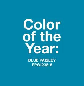 color of the year 2015 blue paisley named 2015 color of the year by ppg