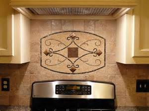 Kitchen Backsplash Metal Medallions Kitchen Backsplash Design Ideas Feel The Home