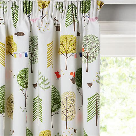 Lemon Nursery Curtains Buy Home At Lewis Cing Pencil Pleat Blackout Lined Children S Curtains Lewis