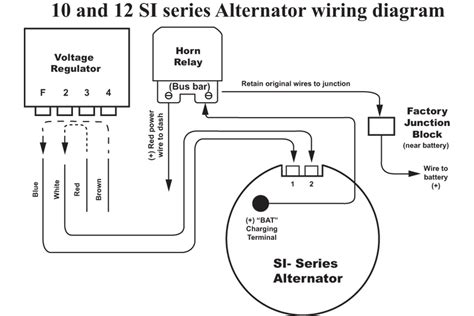 delco 10si alternator wiring diagram delco cs130 alternator wiring wiring diagram