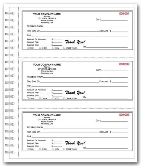 printable cash receipt book custom printed receipt books printit4less com