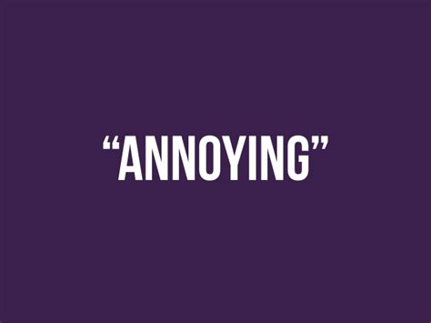 10 Most Annoying Words by Annoying