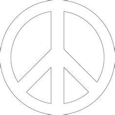 Peace Sign Print Color Fun Free Printables Coloring Peace Sign Template
