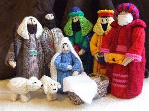 knitting pattern nativity knitted nativity scene by heatheriles jean greenhowe s