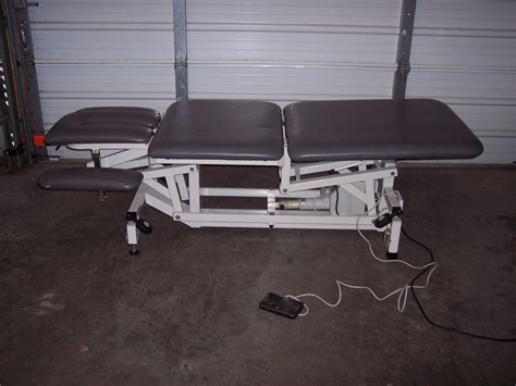 therapy tables for sale used huntleigh 9232c physical therapy table for sale