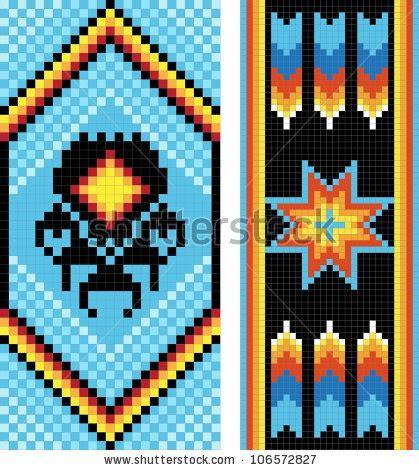 free bead weaving patterns american indian beadwork designs bead weaving patterns