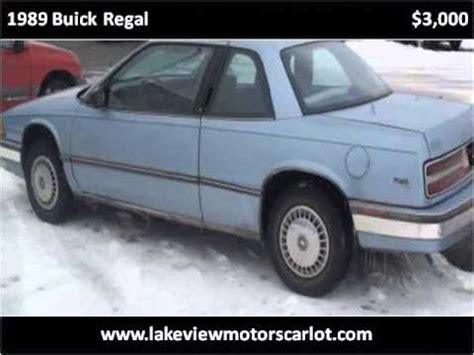 1989 buick regal problems online manuals and repair information